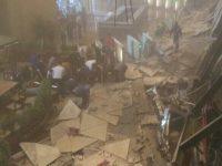【アジア株式】【インドネシア】ジャカルタ証券取引所  建物内部で崩落と現地報道